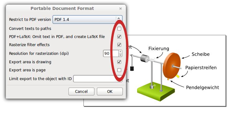 latex pdf einbinden
